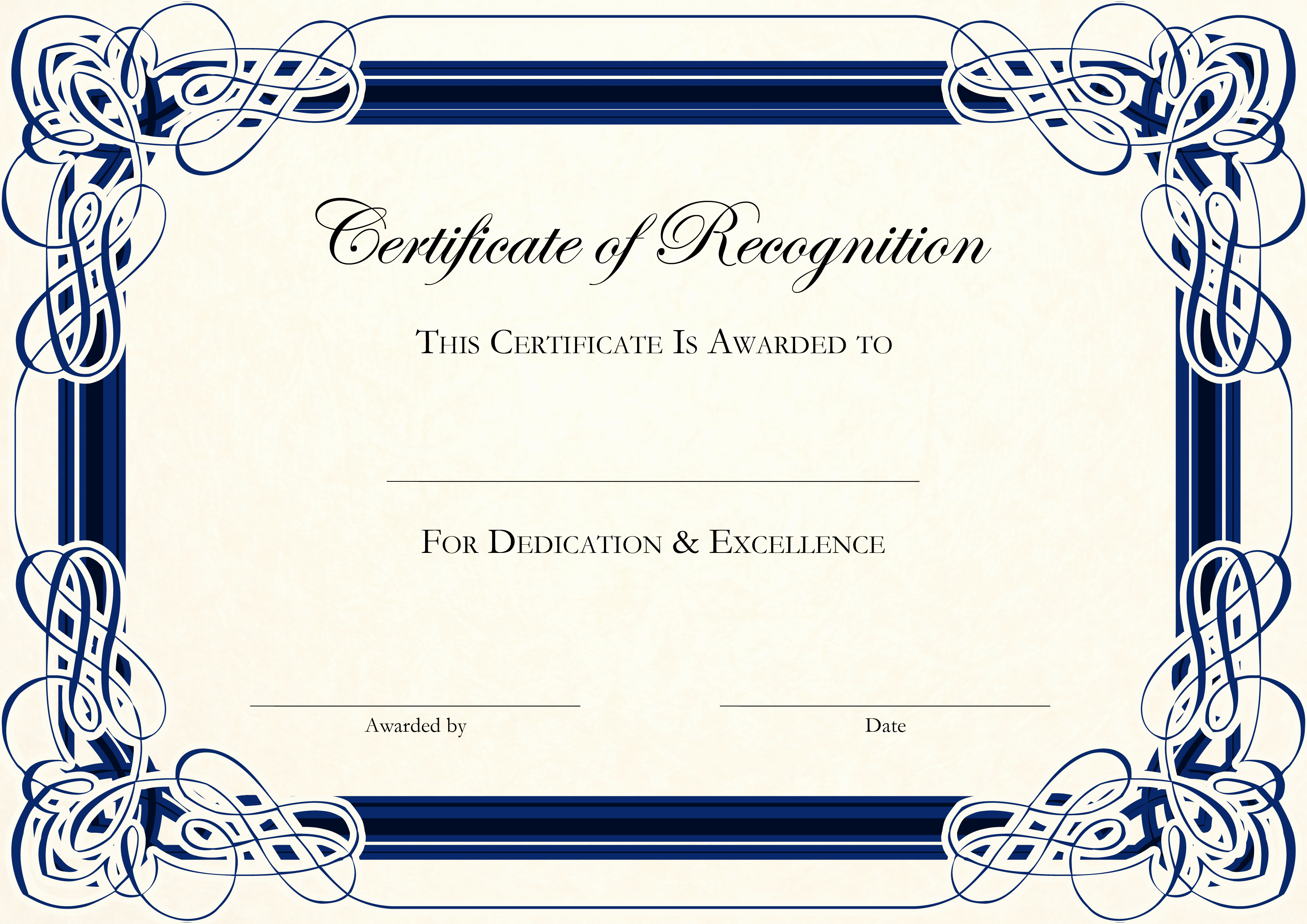 Award Certificate Template Free Awesome 6 Best Of Create Awards Line Certificate