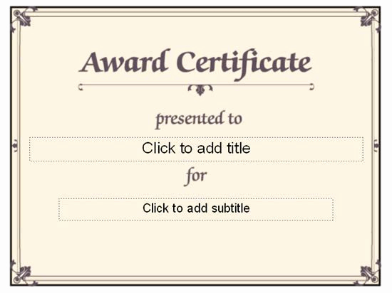 Award Certificate Template Free Luxury 1000 Images About Award Certificate On Pinterest