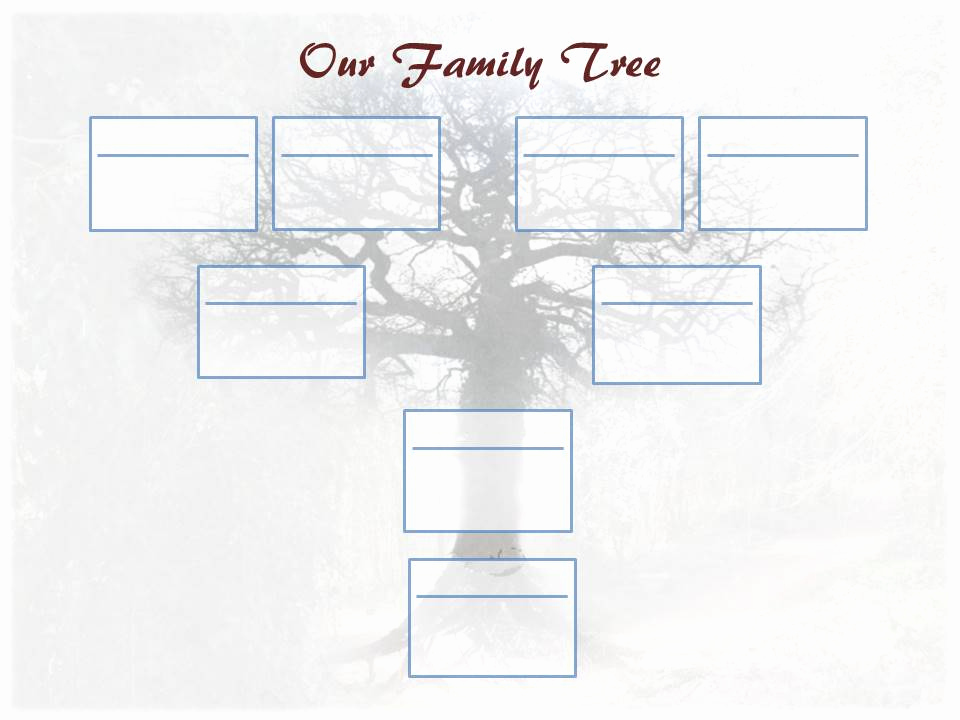 Blank Family Tree Template Inspirational Editable Family Tree Template – Ancestry Talks with Paul