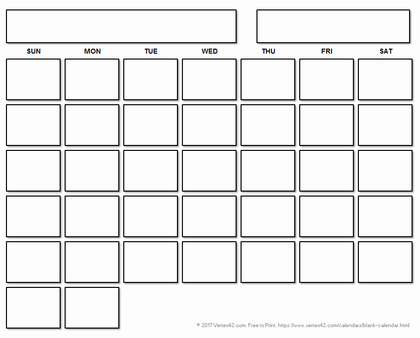 Blank Monthly Calendar Template Pdf Luxury Blank Calendar Template Free Printable Blank Calendars