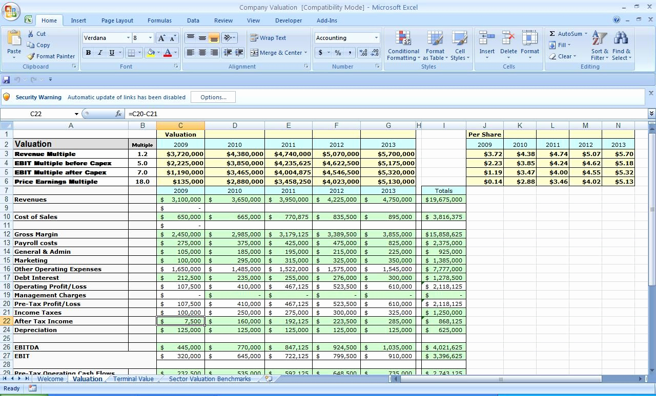 Business Budget Template Excel Inspirational Business Plan Template Excel Excel Templates