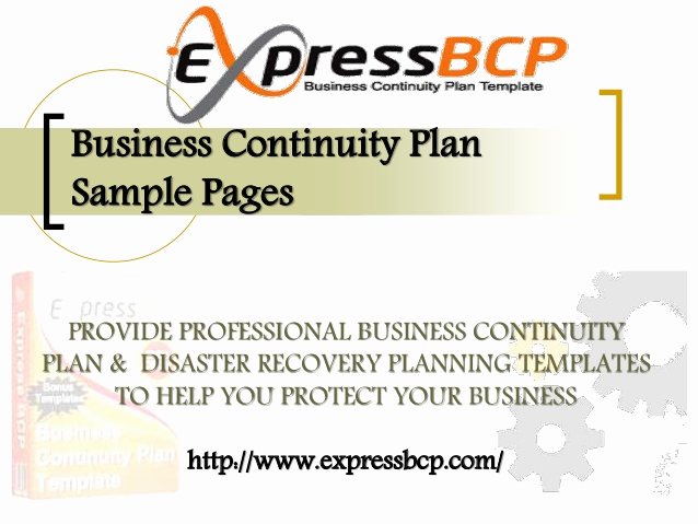 Business Continuity Plan Sample Best Of Business Continuity Plan Sample Pages