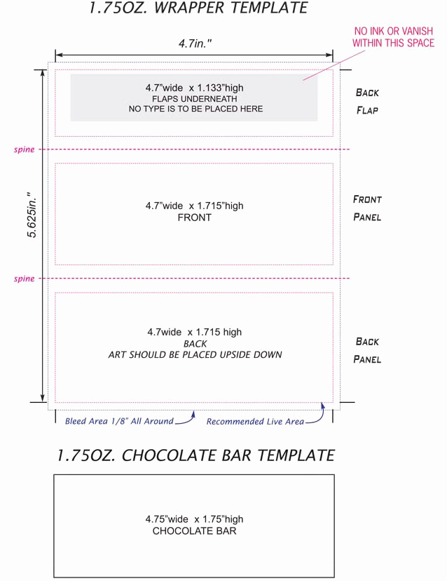 Candy Bar Wrapper Template Awesome Candy Bar Wrappers Template Google Search