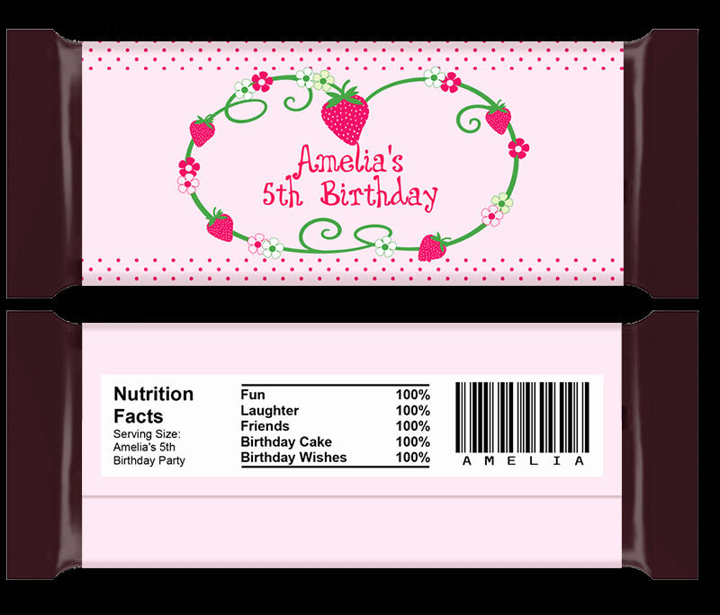 Candy Bar Wrapper Template Lovely Diy Candy Bar Wrapper Templates Party Favors