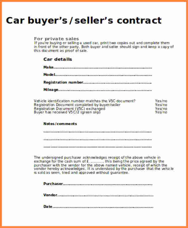 Contract for Selling A Car Fresh 15 Private Car Sale Contract Payments Proposal Letter
