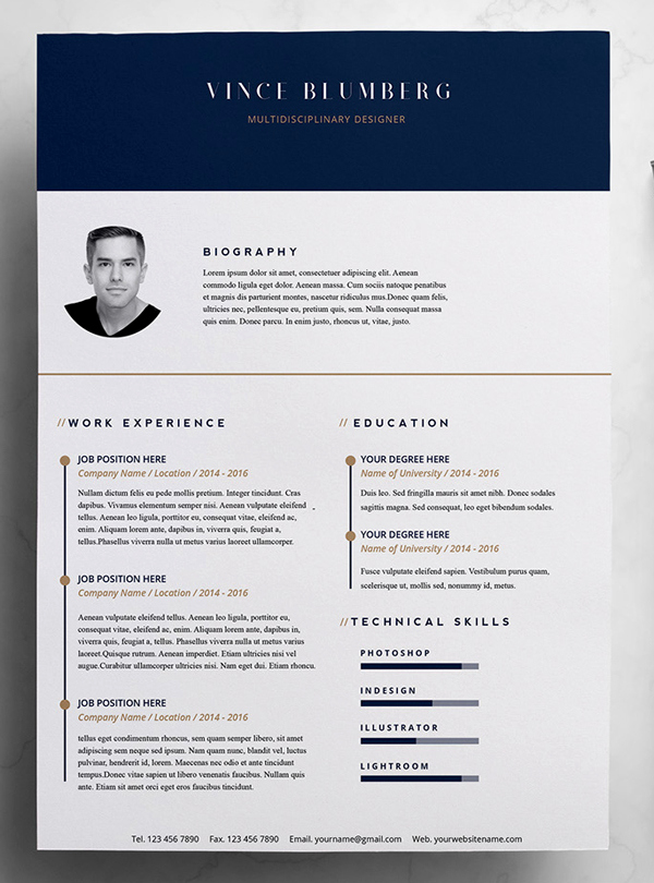 Creative Cover Letter Template Inspirational 23 Free Creative Resume Templates with Cover Letter