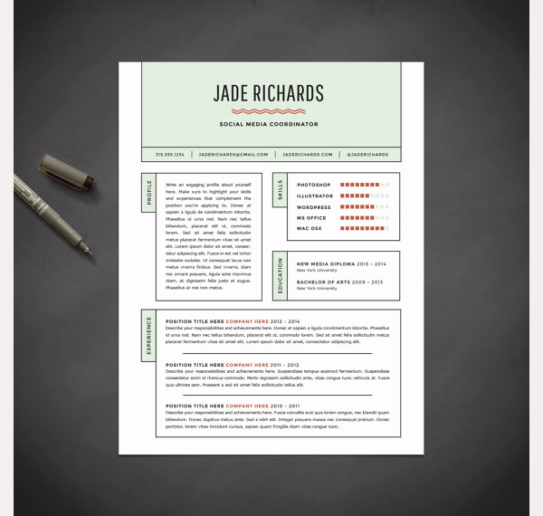 Creative Cover Letter Template New Creative Resume Template 79 Free Samples Examples