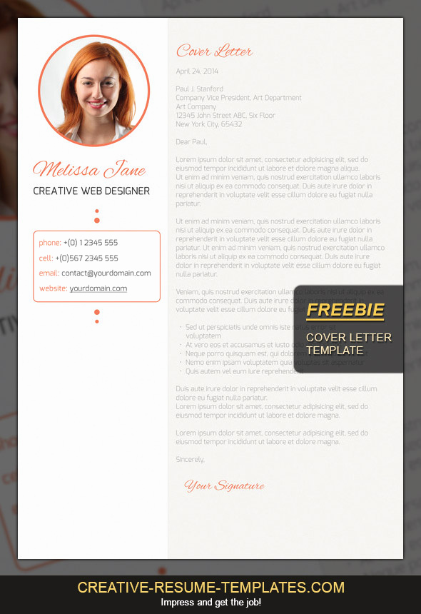 Creative Cover Letter Template New Free Cover Letter Template