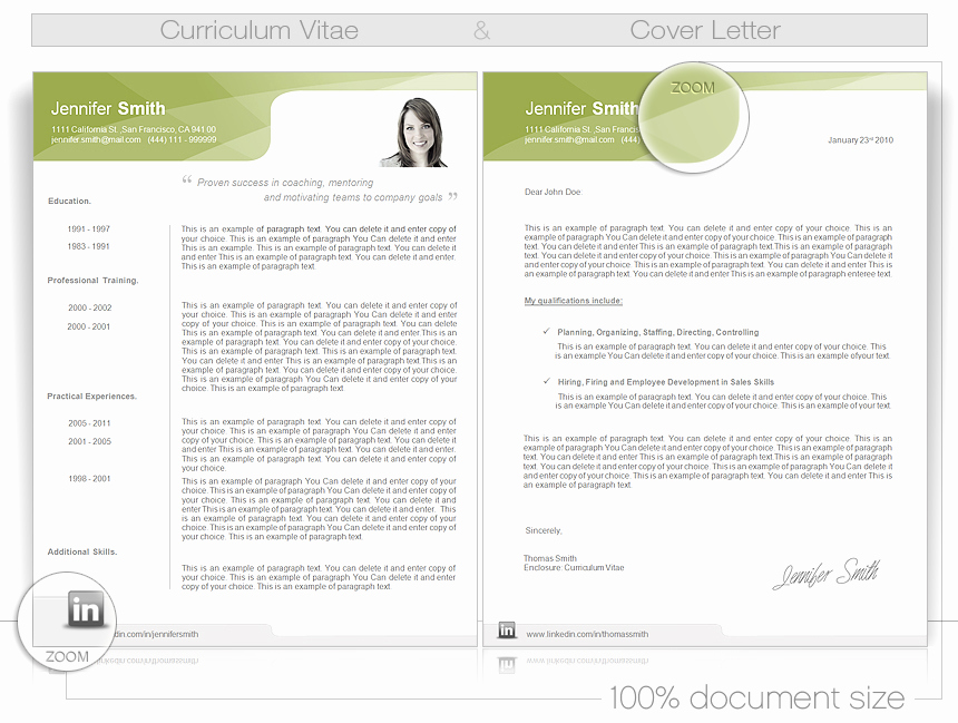 Curriculum Vitae Template Word Unique Cv Word Template Cv Templates Give You Full Control