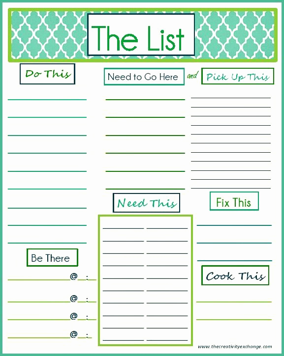 Daily to Do List Template Elegant 93 Best Printable to Do List Images On Pinterest