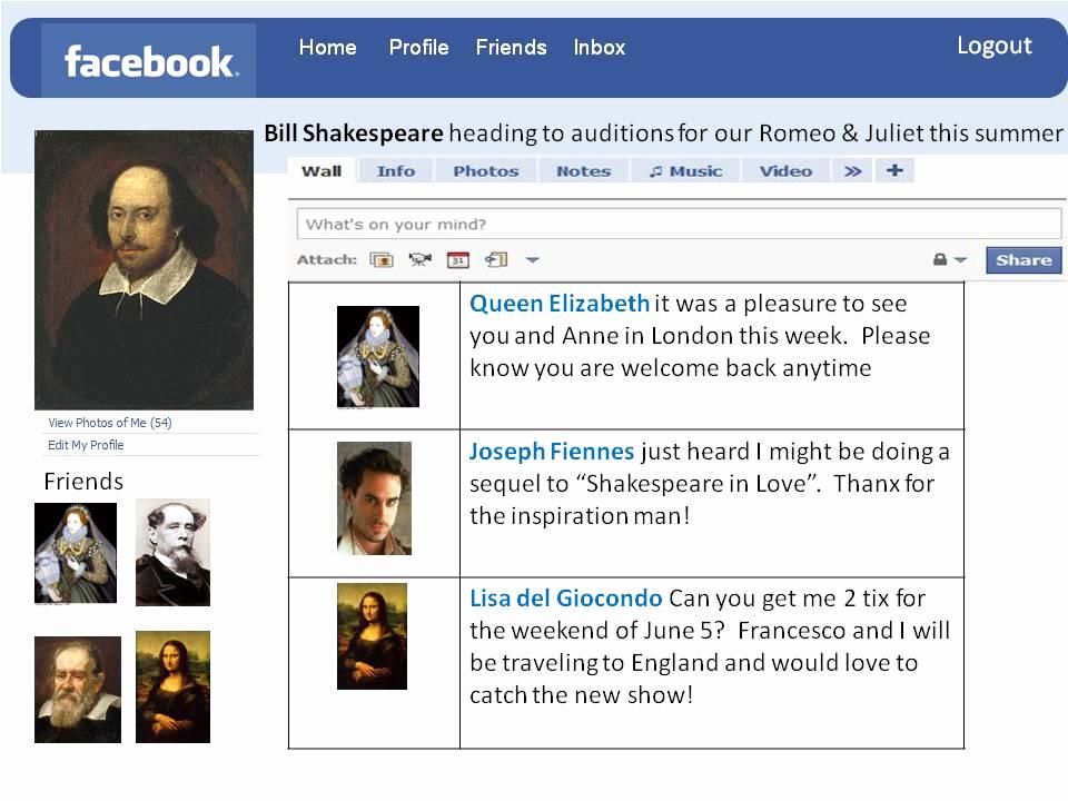 Facebook Template for Students Beautiful Sra Huff En Espanol Fake