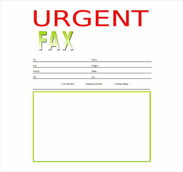 Fax Cover Sheet Template Word Fresh 12 Word Fax Cover Sheet Templates Free Download