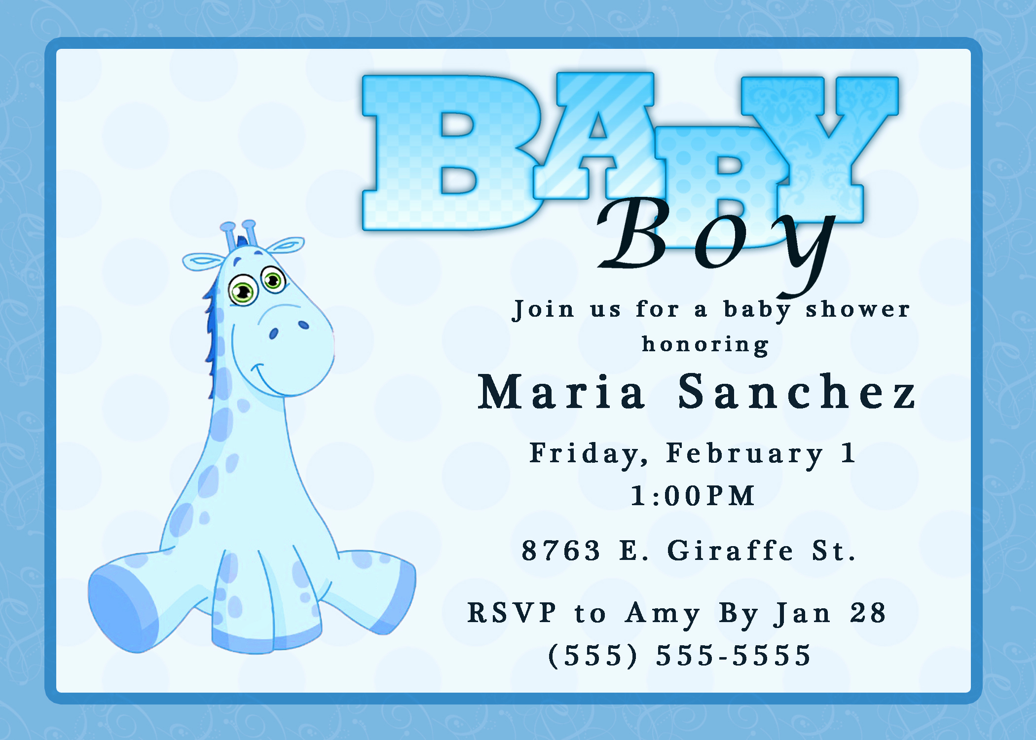 Free Baby Shower Invitation Templates Awesome Baby Shower Invitations