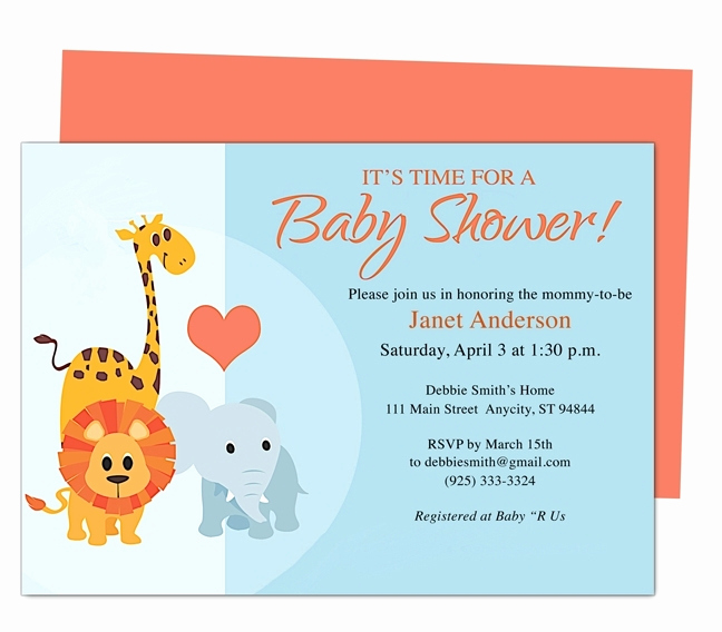 Free Baby Shower Invitation Templates Awesome Free Line Baby Shower Invitations Templates Beepmunk