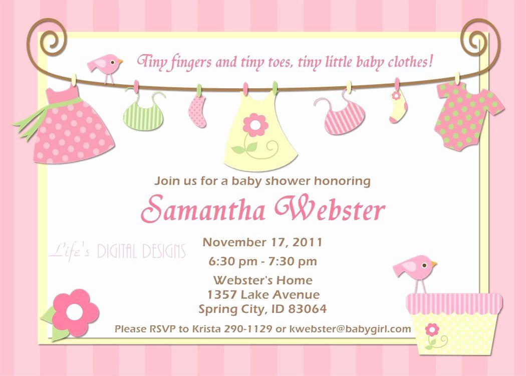 Free Baby Shower Invitation Templates Elegant Birthday Invitations Baby Shower Invitations