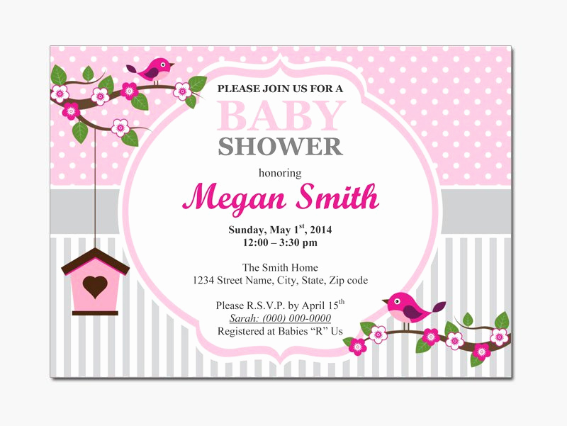 Free Baby Shower Invitation Templates Lovely Baby Shower Invitations for Word Templates Party Xyz