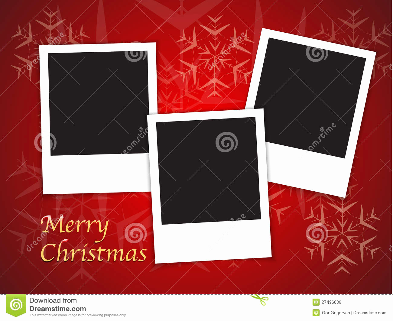 Free Photo Christmas Card Templates Beautiful Christmas Card Templates with Blank Frames Stock