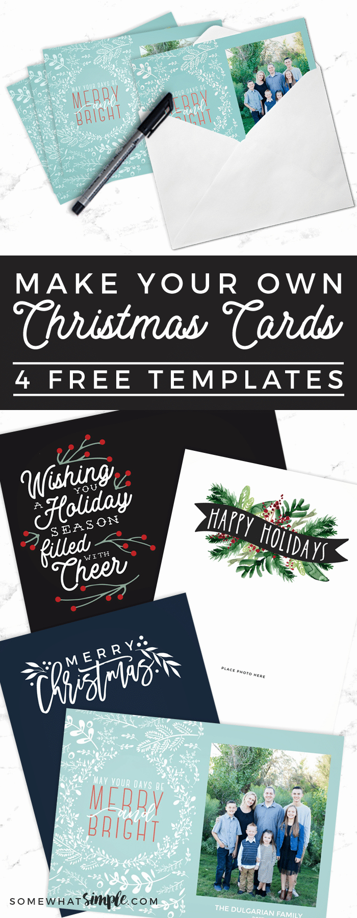 Free Photo Christmas Card Templates Lovely Make Your Own Christmas Cards for Free somewhat
