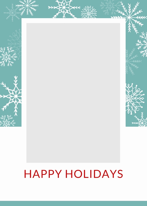 Free Photo Christmas Card Templates New Free Christmas Card Templates the Crazy Craft Lady