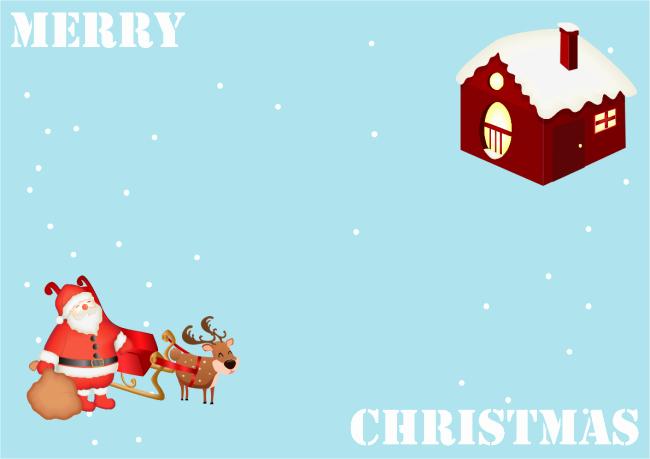 Free Photo Christmas Card Templates New Reindeer Christmas Card
