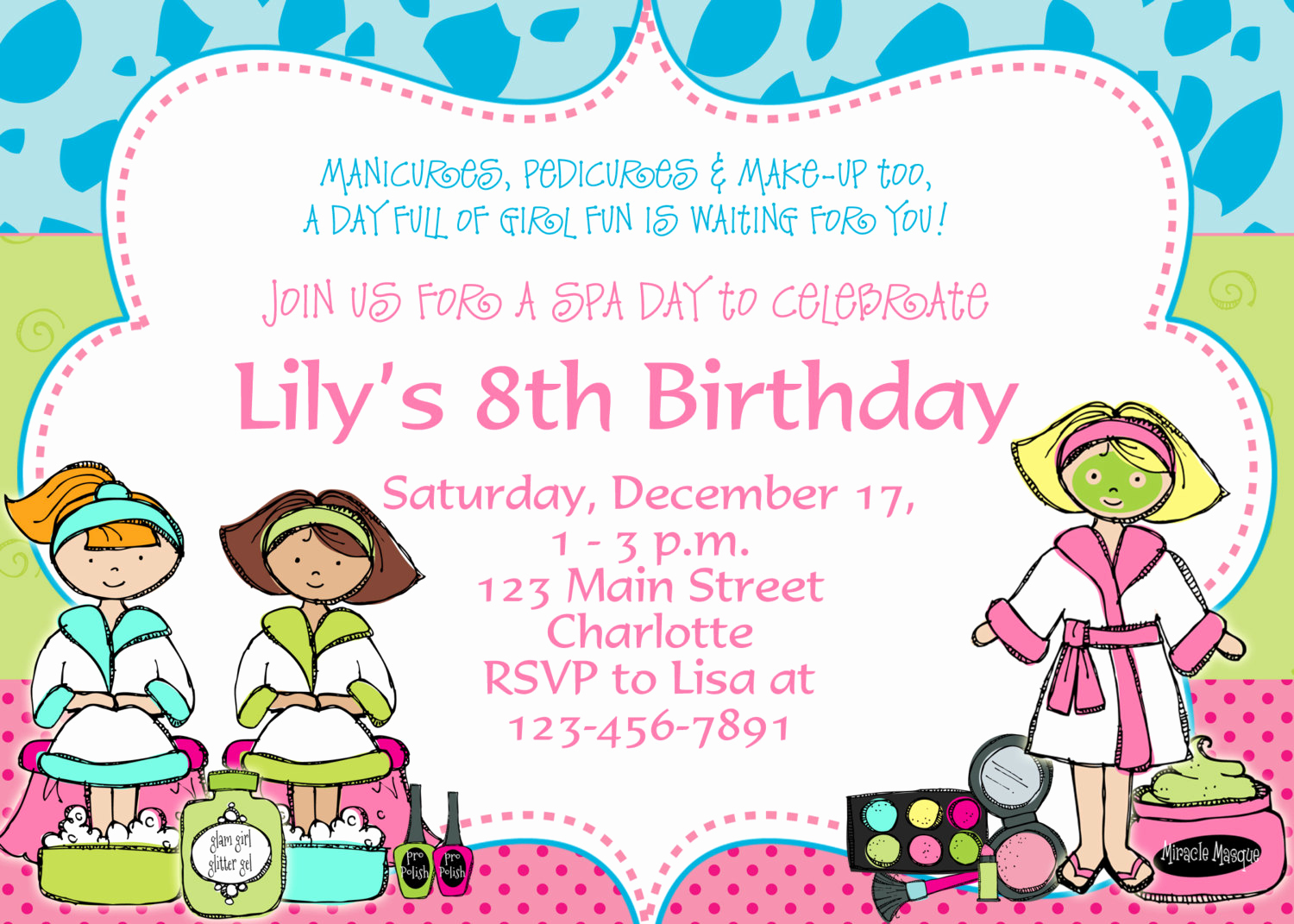 Free Printable Invitations Templates Inspirational Free Birthday Party Invitation Templates