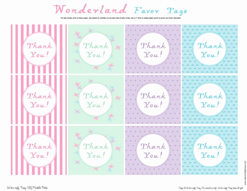 Free Printable Thank You Tags Beautiful Free Printable Thank You Tags for Favors Printable 360