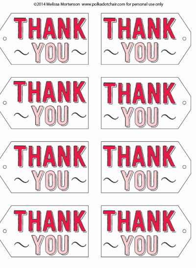 Free Printable Thank You Tags Inspirational Project Teen Book tour Round Up & Free Printable Gift Tags