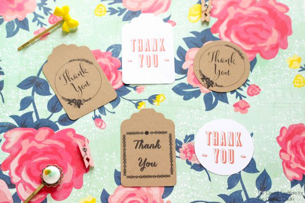Free Printable Thank You Tags Inspirational Thank You Tags Free Printables