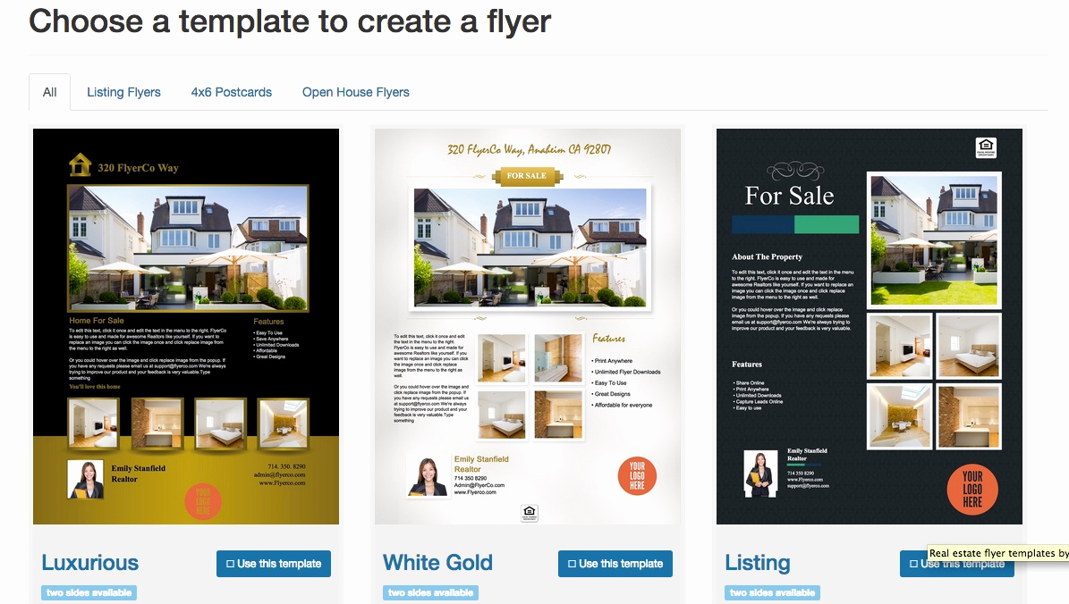 Free Real Estate Templates Elegant Free Real Estate Flyer Templates Download & Print today