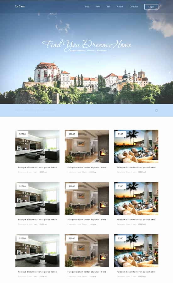 Free Real Estate Templates Fresh 50 Best Real Estate Website Templates Free & Premium