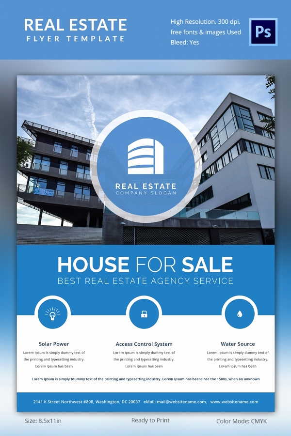 Free Real Estate Templates Luxury Real Estate Flyer Template 35 Free Psd Ai Vector Eps