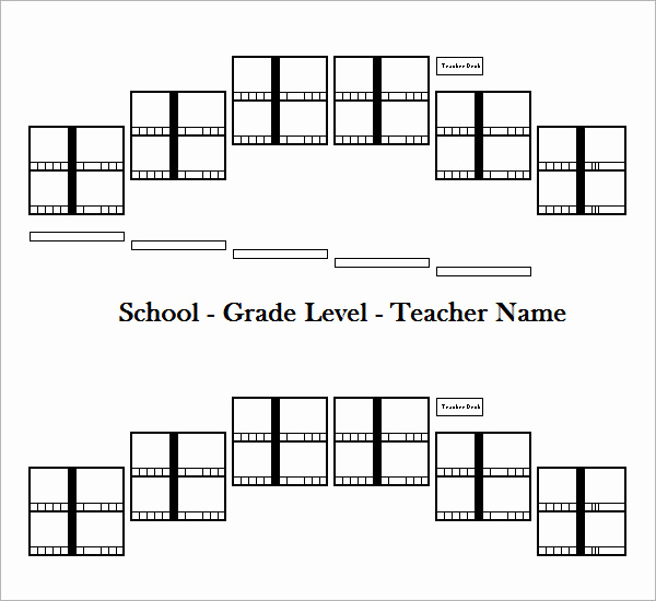Free Seating Chart Template Awesome Sample Seating Chart Template 16 Free Documents In Pdf
