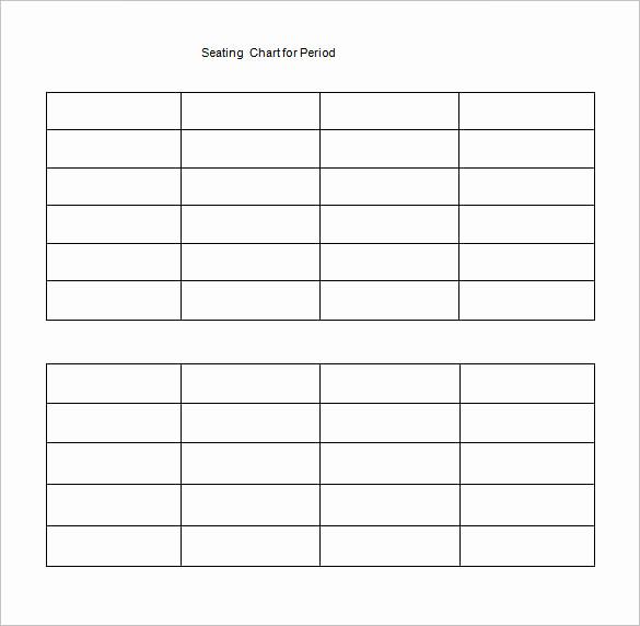 Free Seating Chart Template Elegant Classroom Seating Chart Template 22 Examples In Pdf