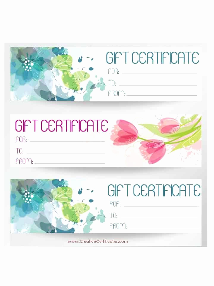 Gift Certificate Template Pages Lovely Free Gift Certificate Template