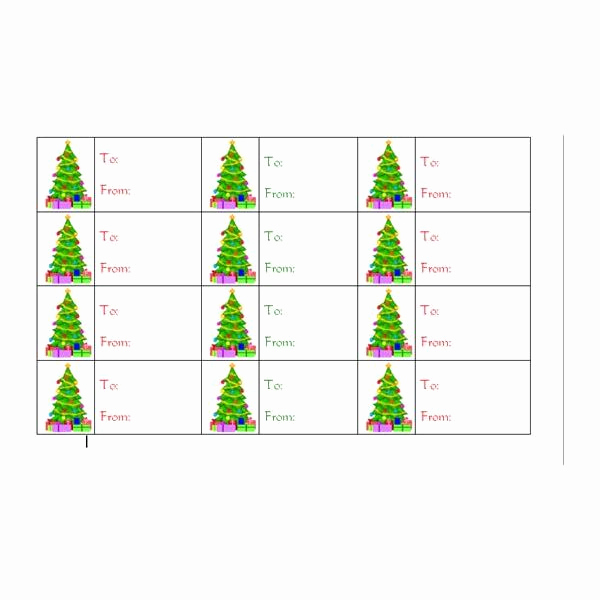 Gift Tag Template Word Beautiful How to Create Christmas Tree Gift Tags In Word