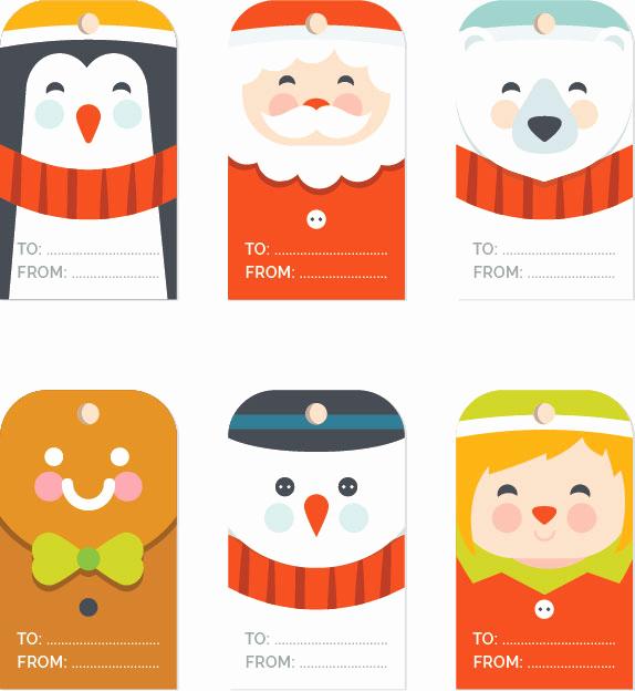Gift Tag Template Word Inspirational Free Christmas Gift Tag Templates Editable & Printable
