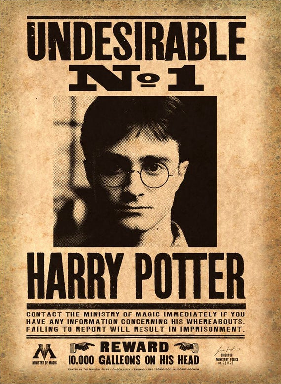 Harry Potter Wanted Poster Awesome Harry Potter Printable Mega Pack Wanted Posters Daily