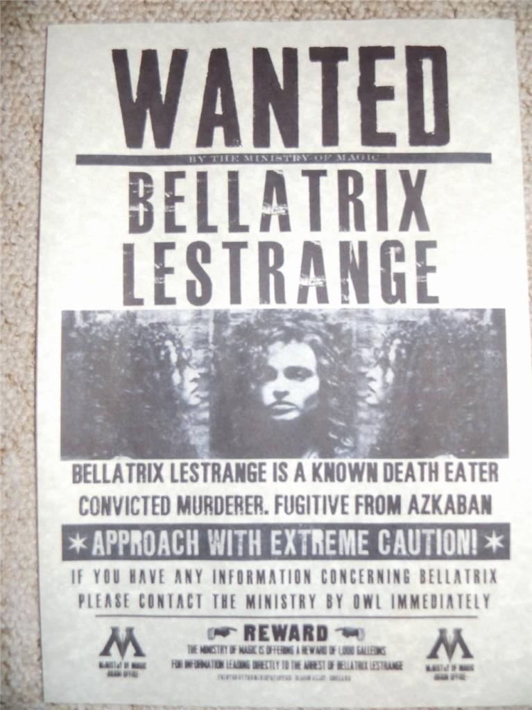 Harry Potter Wanted Poster Fresh Harry Potter Hogwarts Wanted Poster Prop Replica Sirius