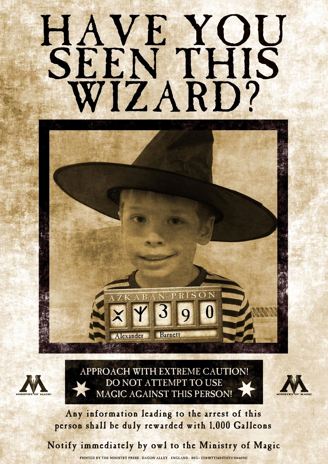 Harry Potter Wanted Poster Inspirational Unique Personalised Harry Potter Wanted Poster T