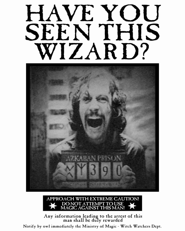 Harry Potter Wanted Poster Lovely Wanted Poster Hprf