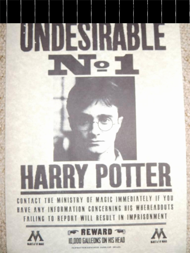 Harry Potter Wanted Poster New Harry Potter Hogwarts S Bellatrix lestrange Sirius