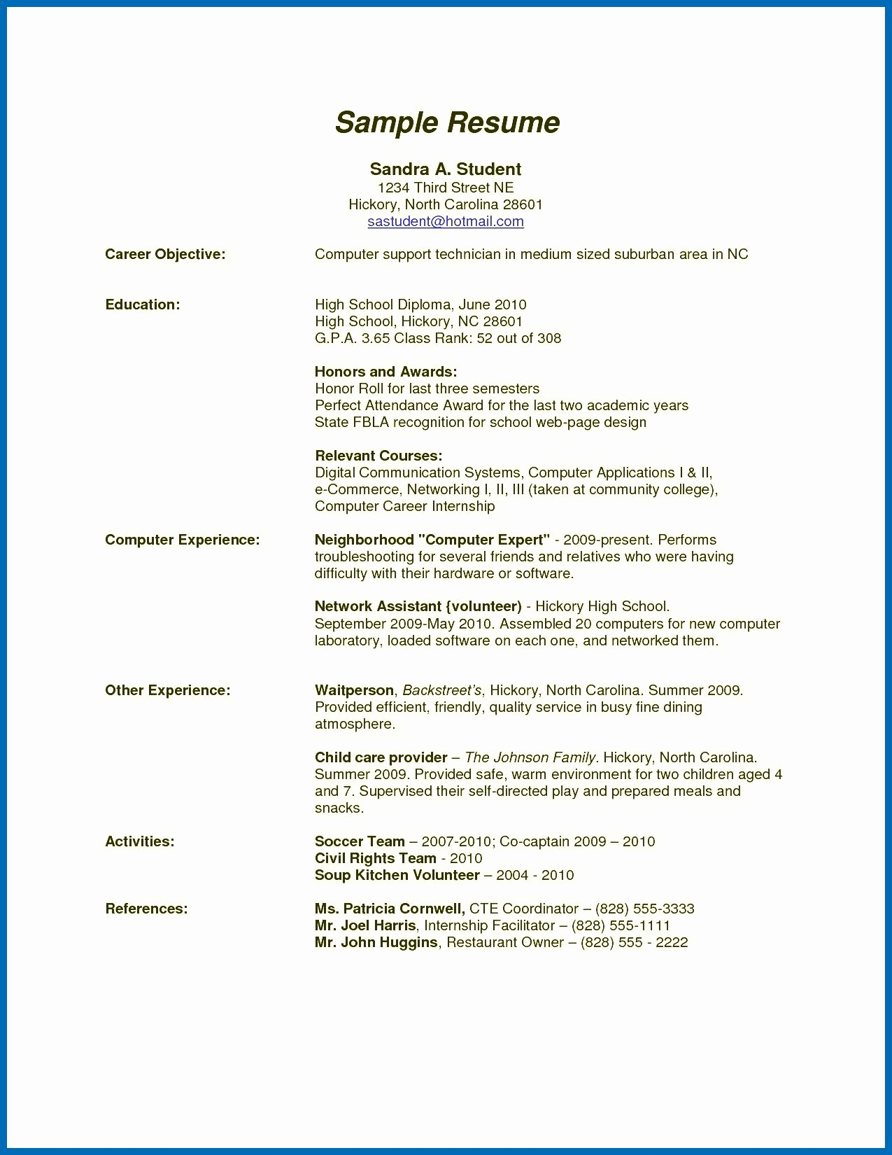 High School Diploma On Resume Awesome How to Write High School Diploma Resume How to Put