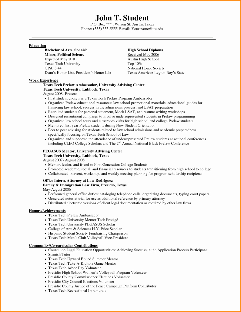 High School Diploma On Resume Fresh Listing Education Resume Examples Cover Letter