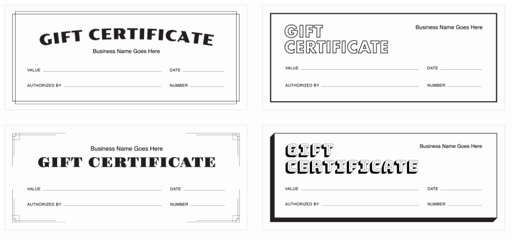 How to Make A Certificate Inspirational Create A Gift Certificate with Square's Free Templates