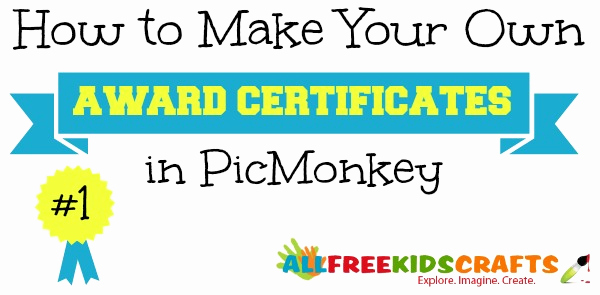How to Make A Certificate Luxury How to Make Your Own Award Certificates