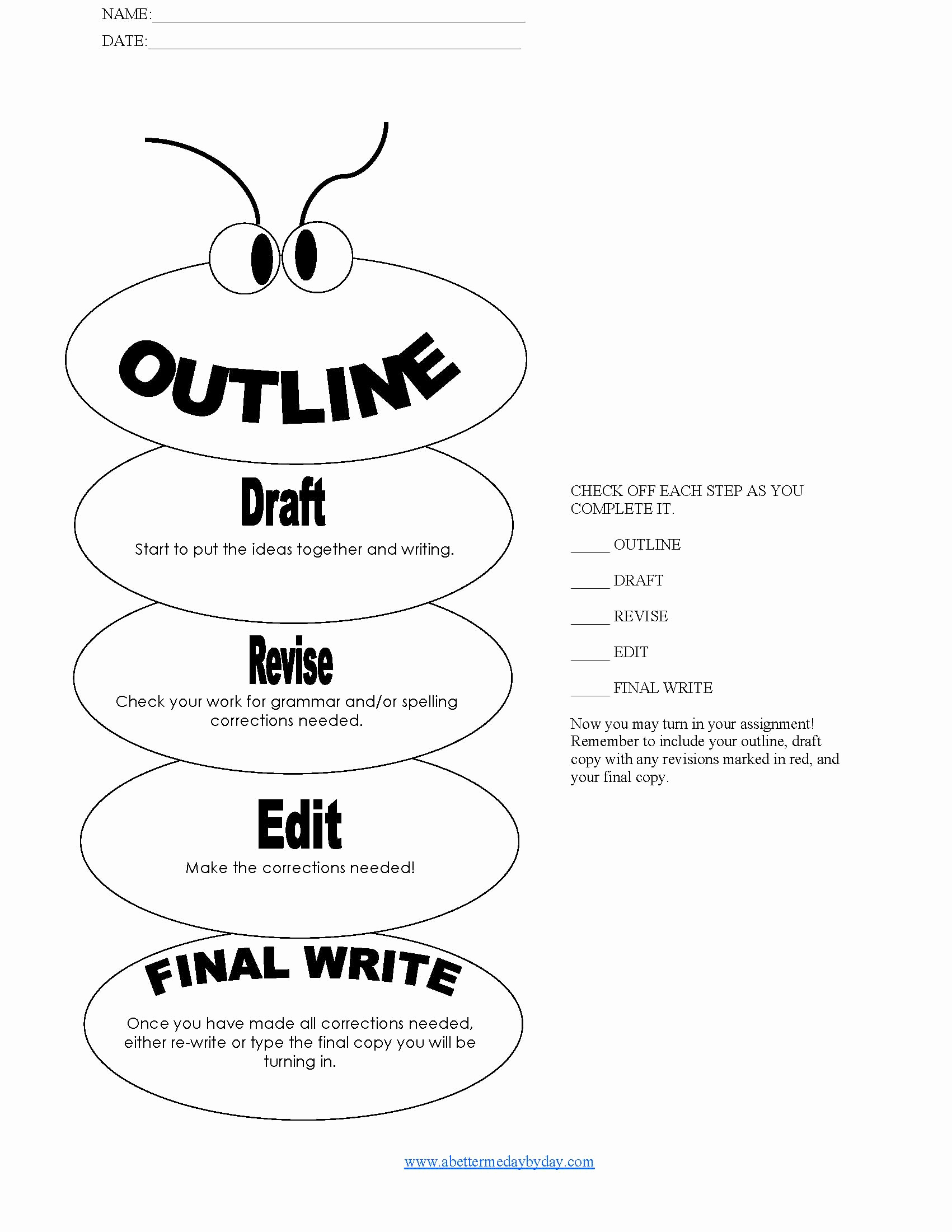 How to Outline An Essay Awesome 14 Best Of College Essay Outline Worksheet Essay