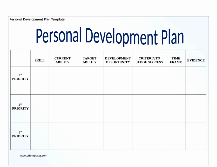Individual Development Plan Template Best Of 2019 Personal Development Plan Fillable Printable Pdf