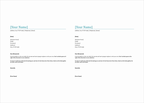 Microsoft Word Letterhead Template Lovely 38 Free Download Letterhead Templates In Microsoft Word