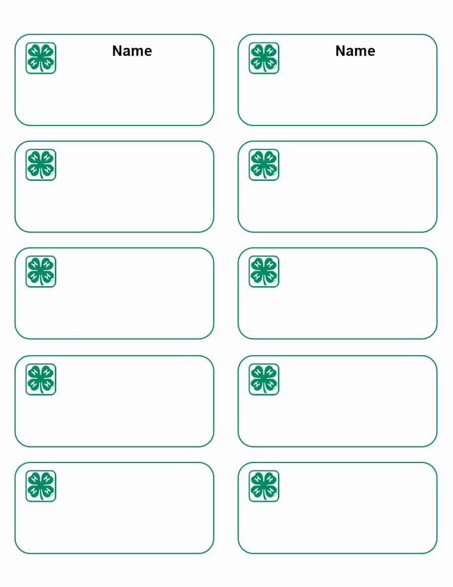 Name Tag Template Free Printable Beautiful 47 Free Name Tag Badge Templates Template Lab