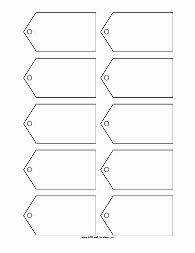 Name Tag Template Free Printable Elegant Free Printable Blank Gift Tags Template …